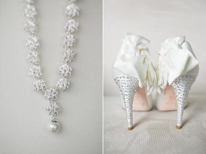 silk wedding shoes