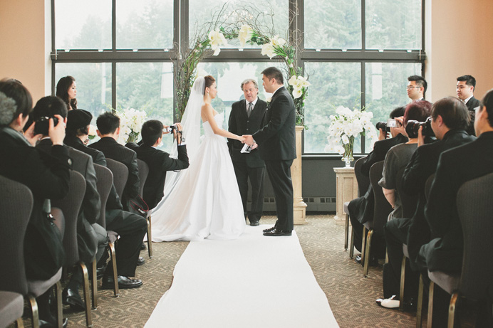 Swan-e-set indoor Wedding ceremony