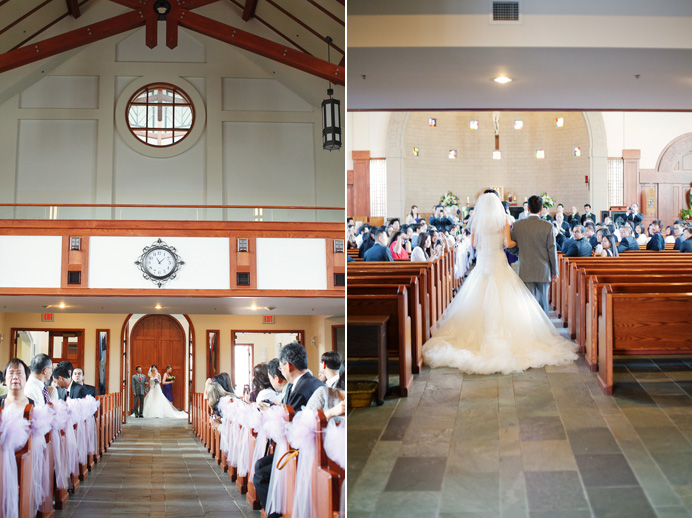 St. Patrick's Parish Vancouver Catholic wedding