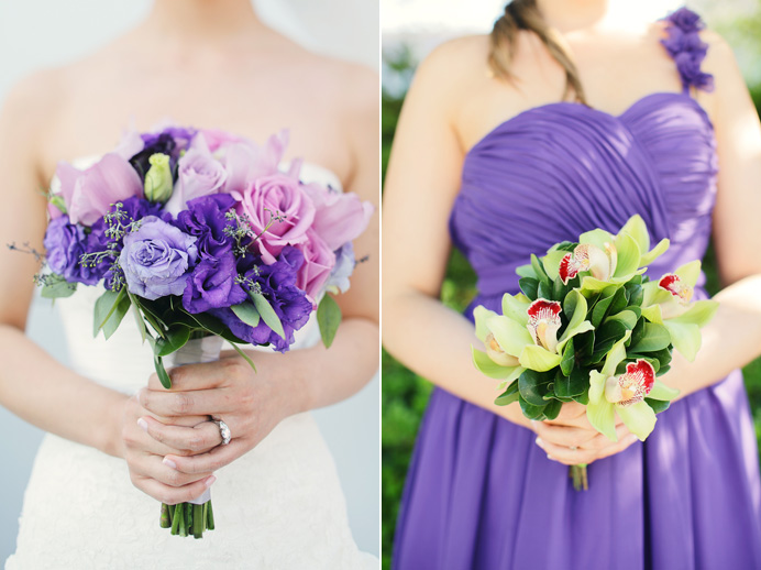 Vancouver wedding flower boquets