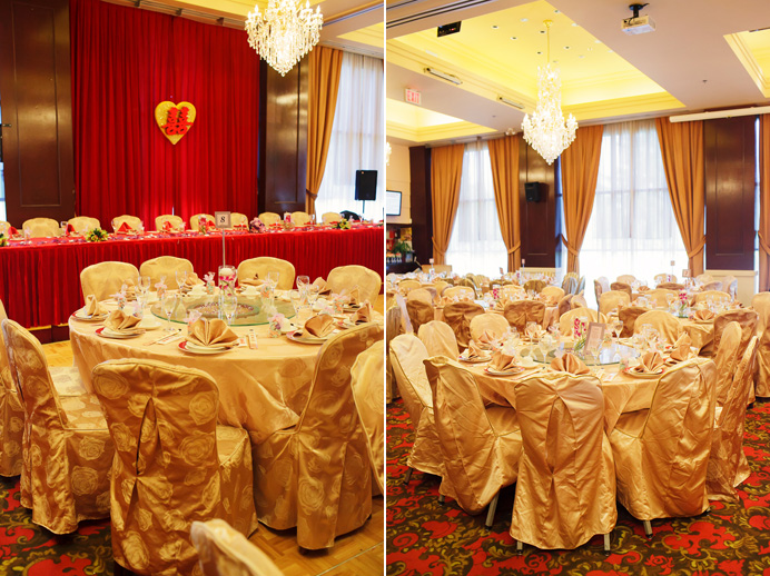 Shiang Garden wedding | Chinese restaurant decor