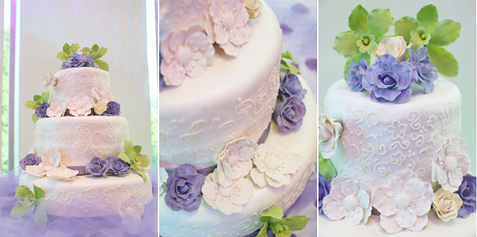 DYI wedding cake | Shiang garden restaurant wedding