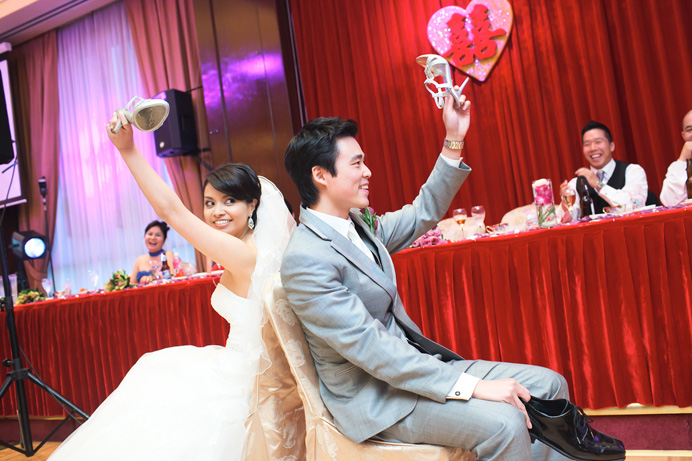 Chinese wedding games | Shiang garden restaurant wedding