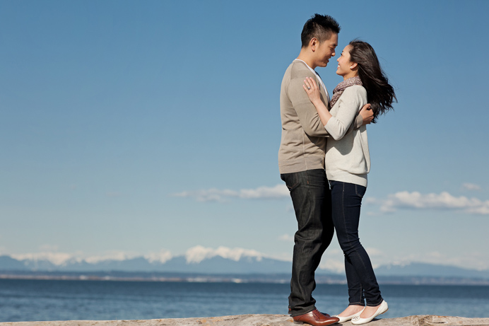 Vancouver beach engagement session (5)
