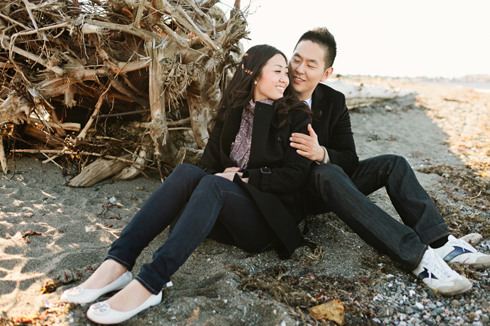 Vancouver beach engagement session (3)