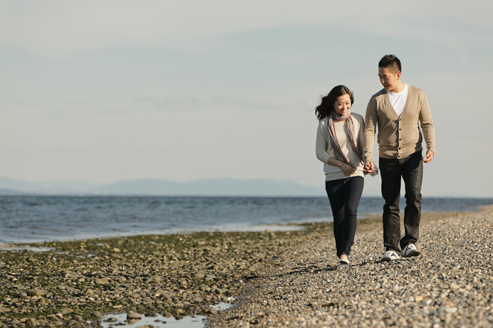 Vancouver beach engagement session (10)