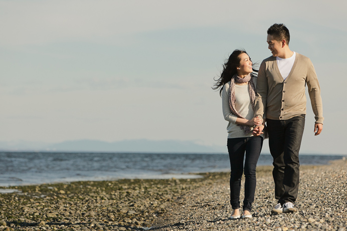Vancouver beach engagement session (9)