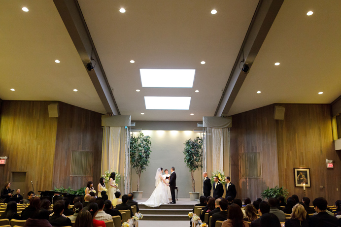 Unity Church wedding Vancouver