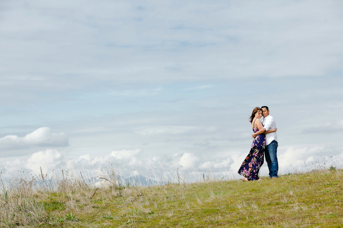 Vancouver cherry blossom engagement session (10)