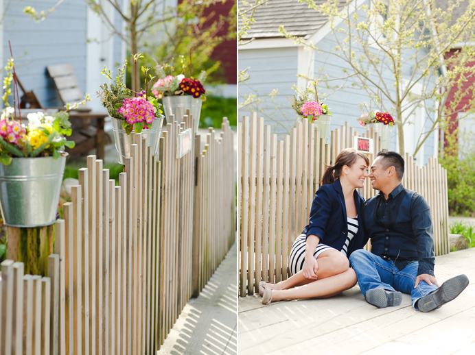 Vancouver cherry blossom engagement session (13)