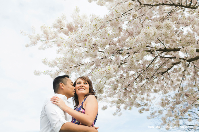 Vancouver cherry blossom engagement session (3)