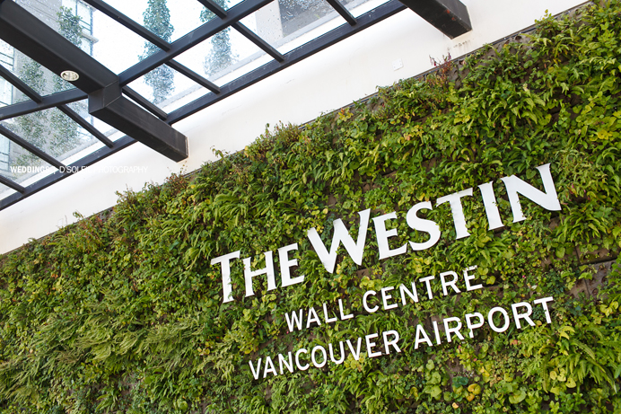 Westin Wall Centre Vancouver Airport wedding