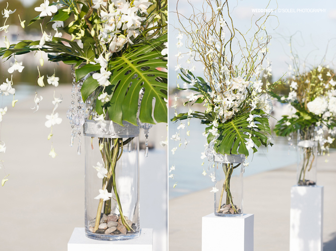 Floral arrangements and decor for weddings