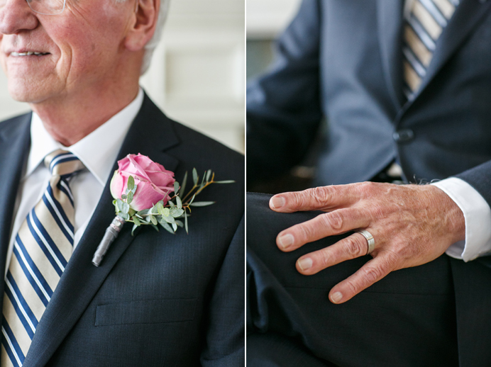 Wedgewood Hotel wedding groom