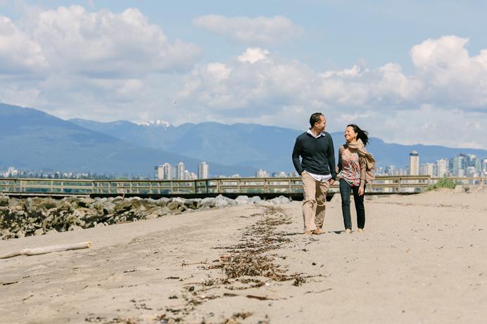 Jericho beach engagement Vancouver (5)