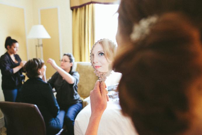 Mink Makeup and Hair wedding