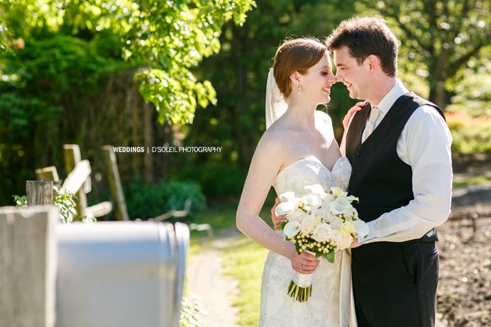 Vandusen Garden wedding photos