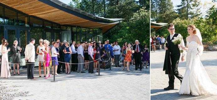 Vandusen Garden visitor centre wedding
