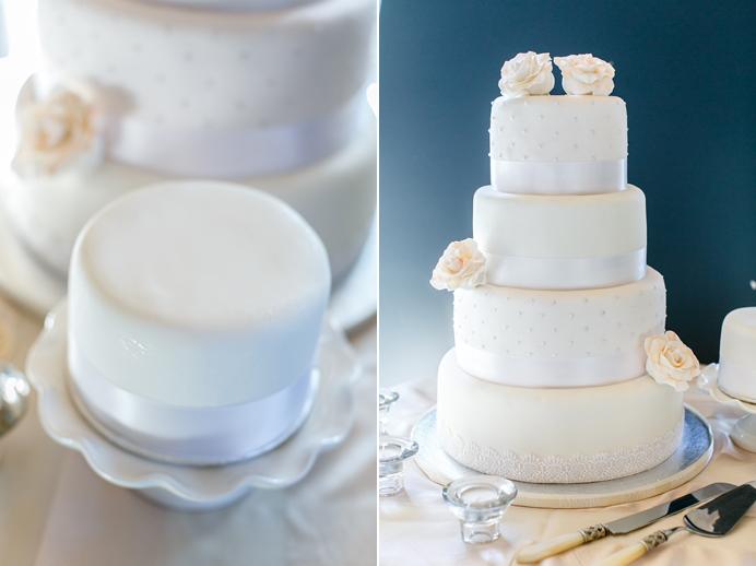 Ganache wedding cake vancouver