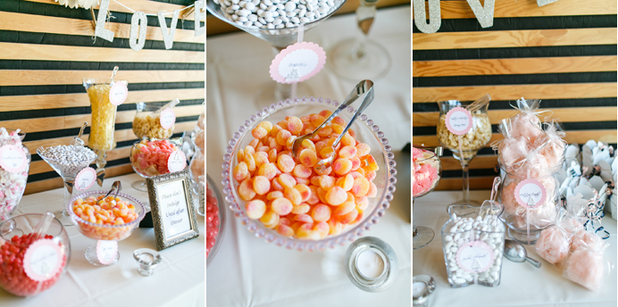 Frankie's Candy Bar at a wedding
