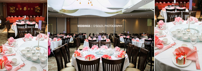 Sun Sui Wah wedding banquet reception