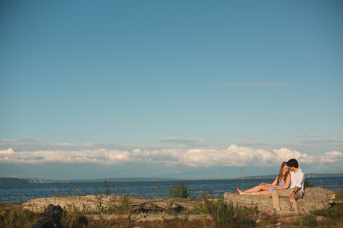 Vancouver beach engagement session (8)