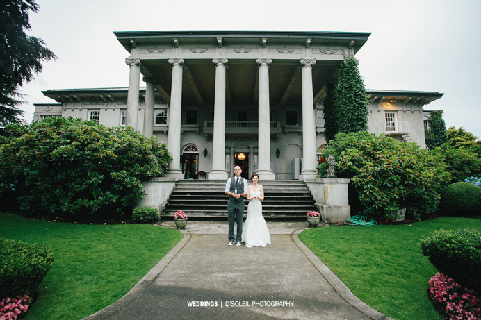 Hycroft Manor Vancouver wedding