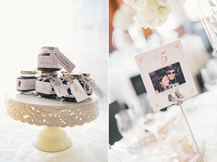 Vancouver Club Wedding decor