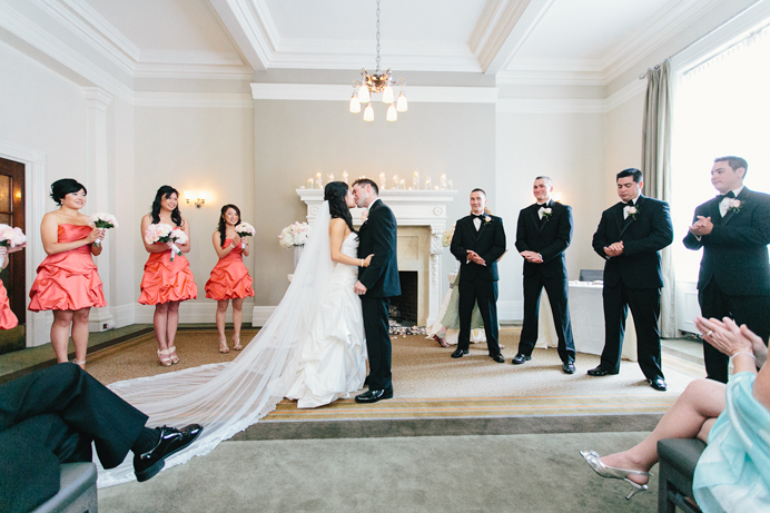 Vancouver Club Wedding Ceremony