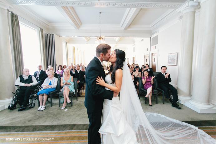 Vancouver Club Wedding Ceremony