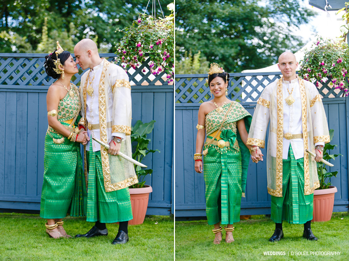 Cambodian Bridal Dress