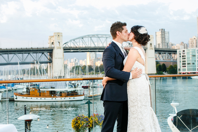 Bridges wedding photo