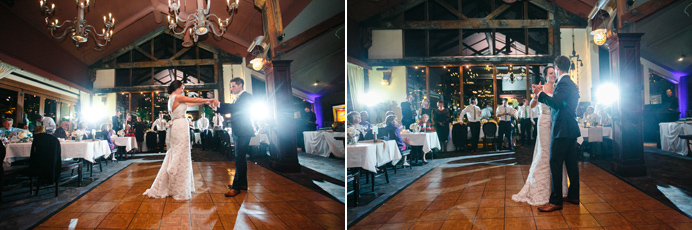 First dance at Bridges in Vancouver