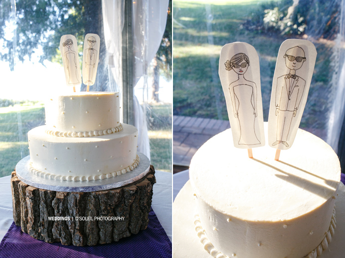 Vancouver wedding cake designs rustic