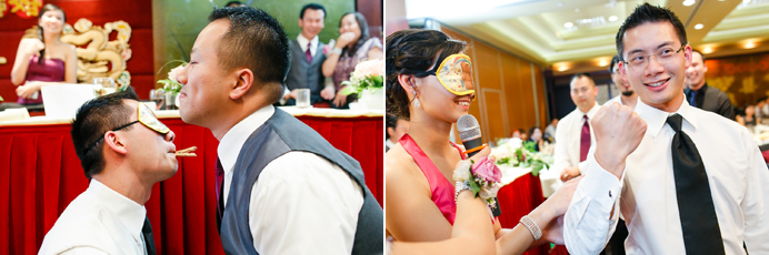 Chinese wedding game ideas