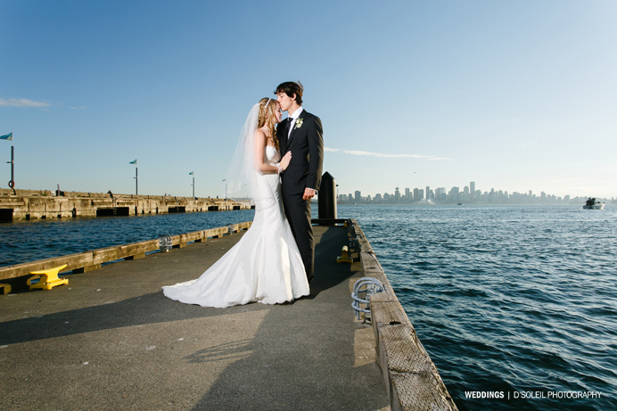 Lonsdale Quay wedding Pinnacle Hotel