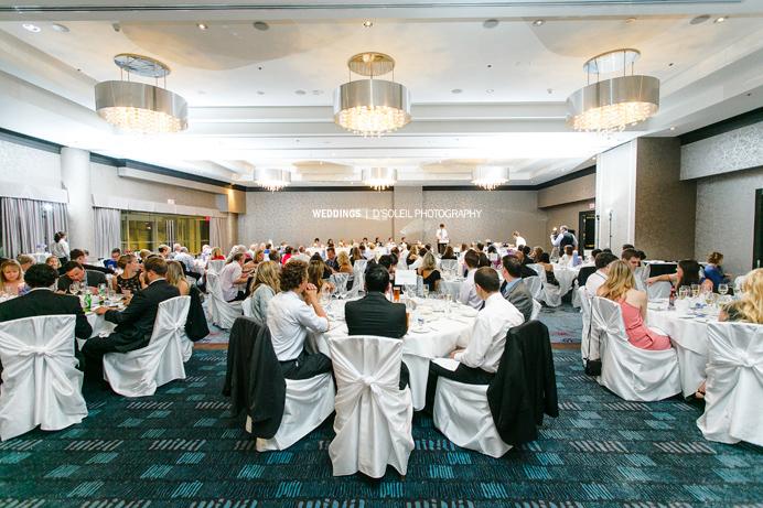 Large wedding venues in Vancouver Pinnacle Hotel