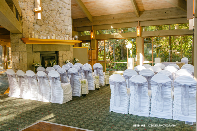 Furry Creek Wedding room photos
