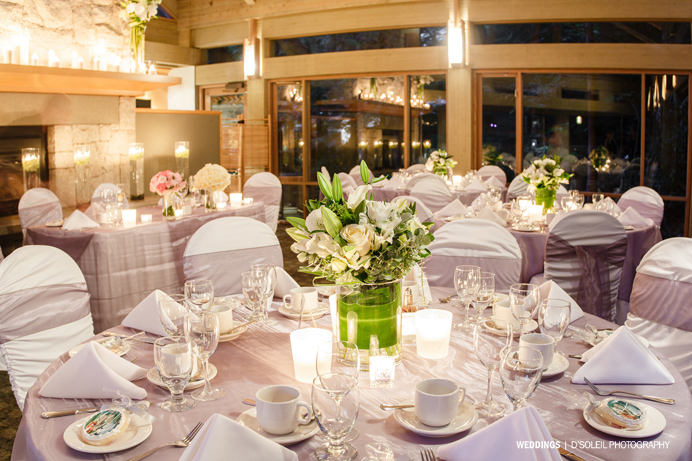 Furry Creek Wedding reception venue