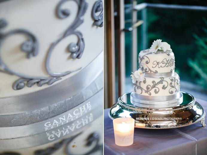 Vancouver wedding cake Ganache patisserie