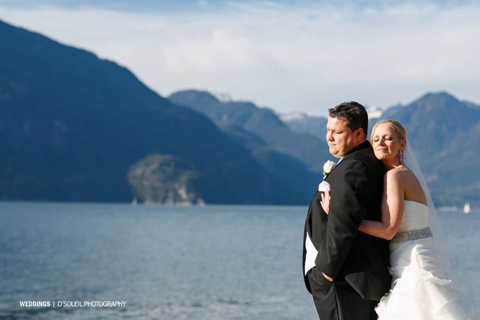 Furry Creek Wedding photos in Squamish