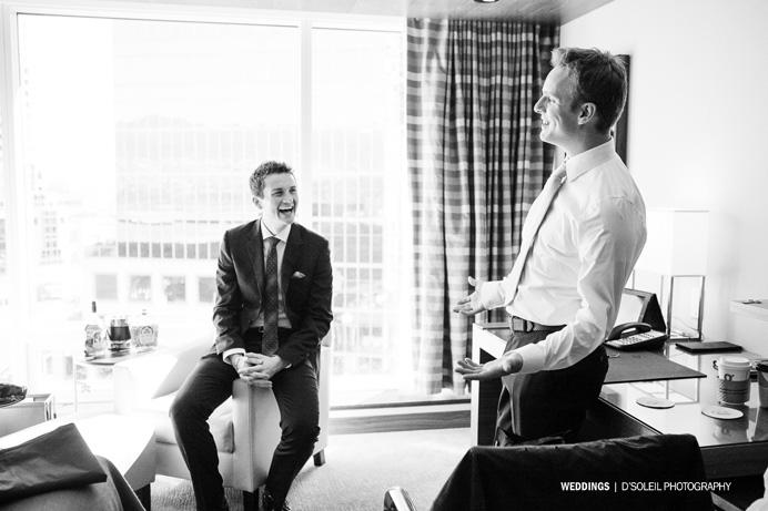 Fairmont Pacific Rim Hotel Wedding