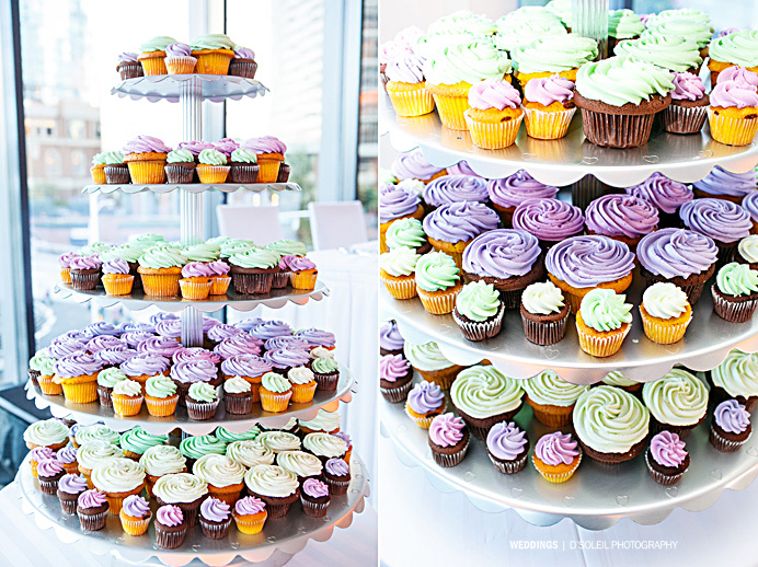 Vancouver cupcakes wedding