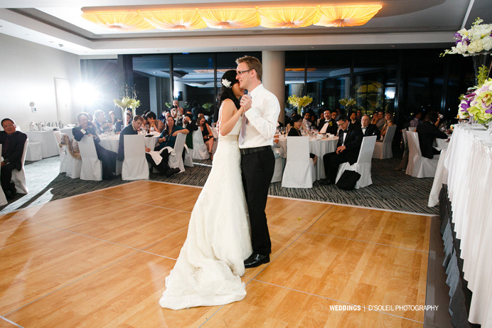 First dance at Fairmont Pacific Rim Wedding