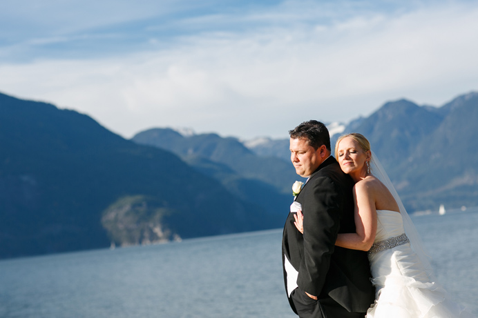 Weddings in Squamish Furry Creek