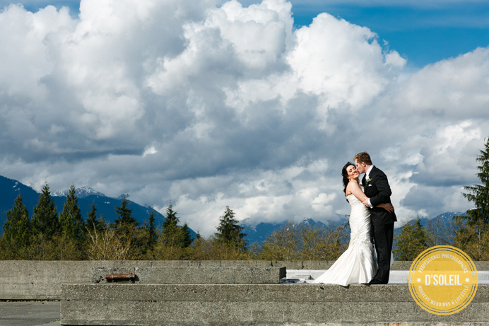Burnaby mountain SFU weddings