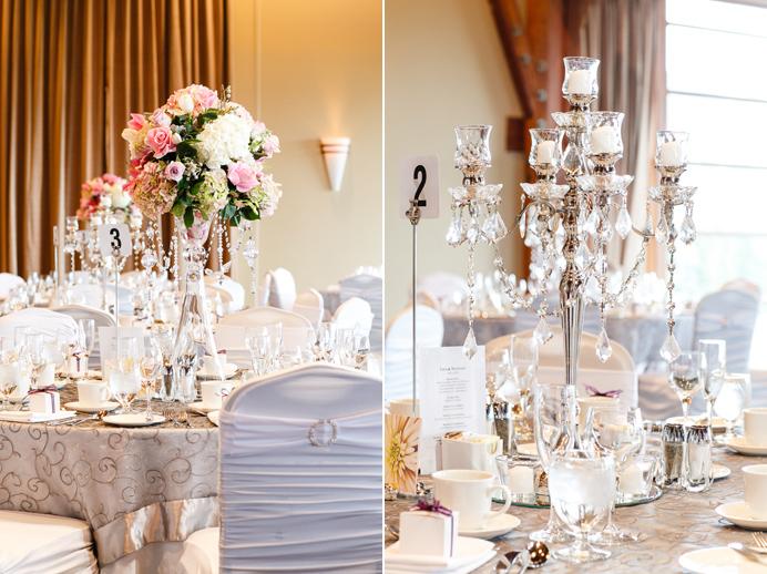Westwood Plateau wedding ballroom