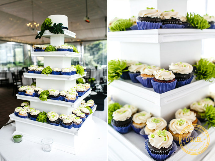 Vancouver wedding cupcakes
