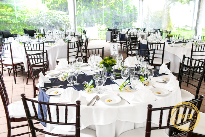 Brock house wedding layout