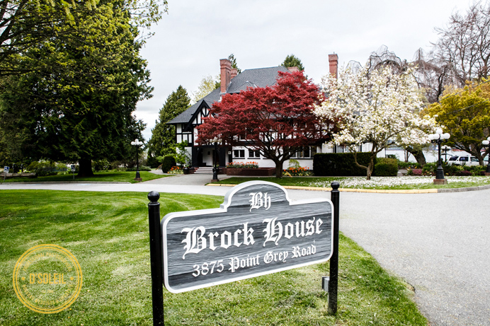 Brock House wedding venue entrance